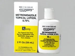 metronidazole 0.75 % lotion