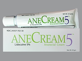 AneCream5 5 % topical