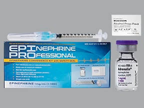 Epinephrine Professional 1 mg/mL injection kit