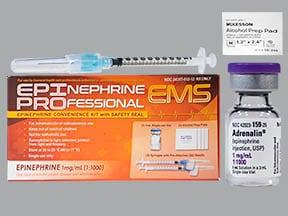 Epinephine Professional EMS 1 mg/mL injection kit