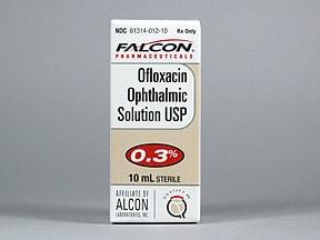 ofloxacin 0.3 % eye drops