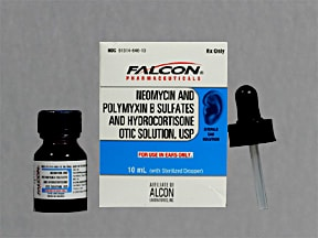 neomycin-polymyxin-hydrocort 3.5 mg/mL-10,000 unit/mL-1 % ear solution