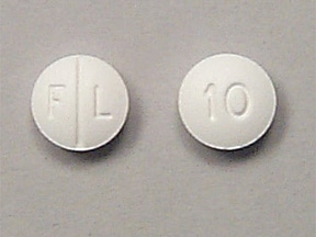 Lexapro 10 mg tablet