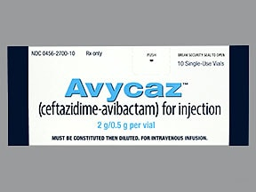 Avycaz 2.5 gram intravenous solution