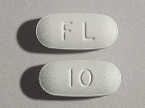Namenda 10 mg tablet