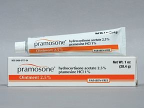 Pramosone 2.5 %- 1 % topical ointment
