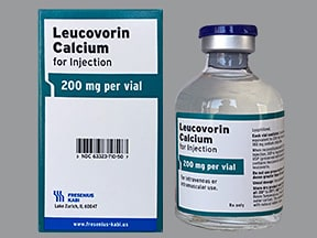 leucovorin calcium 200 mg solution for injection