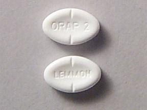 Orap 2 mg tablet