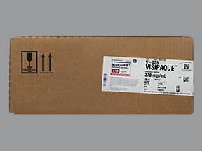 Visipaque 270 mg iodine/mL intravenous solution