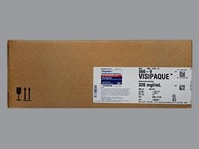 Visipaque 320 mg iodine/mL intravenous solution