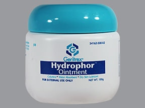 Hydrophor 42 % topical ointment