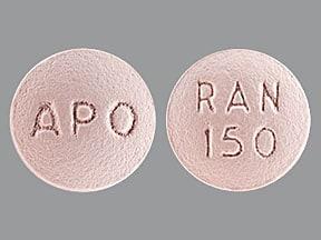 Acid Reducer (ranitidine) 150 mg tablet