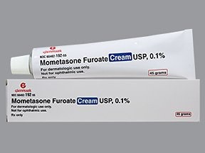 mometasone 0.1 % topical cream