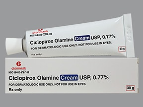 ciclopirox 0.77 % topical cream