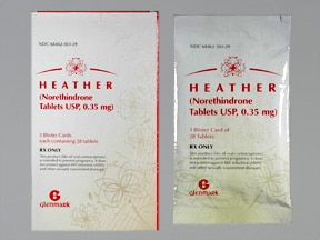 Heather 0.35 mg tablet