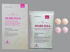 Marlissa 0.15 mg-0.03 mg tablet