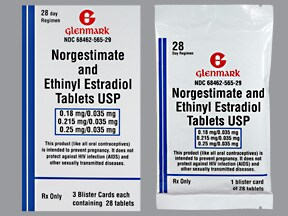 norgestimate-ethinyl estradiol 0.18 mg/0.215mg/0.25mg-35 mcg(28)tablet