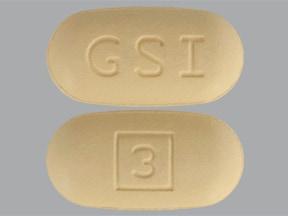 Vosevi 400 mg-100 mg-100 mg tablet