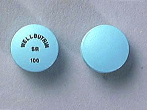 Wellbutrin SR 100 mg tablet, 12 hr sustained-release