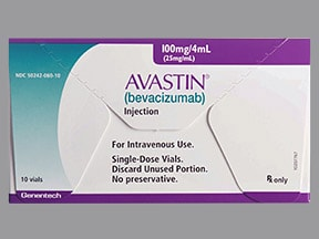 Avastin 25 mg/mL intravenous solution
