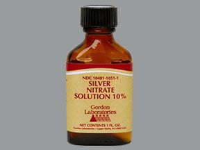 silver nitrate 10 % topical solution