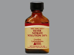 silver nitrate 50 % topical solution