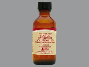 sodium hydroxide (bulk) 10 % solution