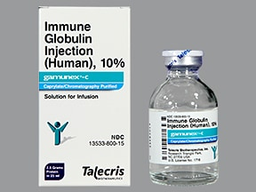 Gamunex-C 2.5 gram/25 mL (10 %) injection solution