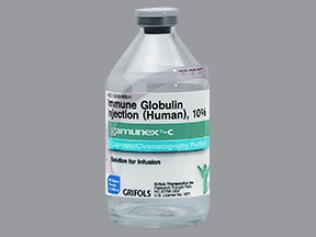 Gamunex-C 40 gram/400 mL (10 %) injection solution