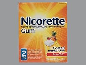 Nicorette 2 mg gum