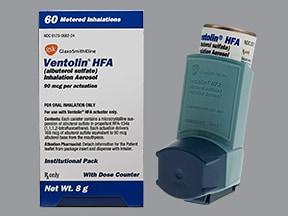 is ventolin hfa a steroid inhaler