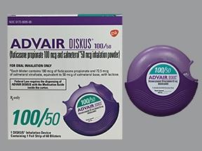 Advair Diskus 100 mcg-50 mcg/dose powder for inhalation