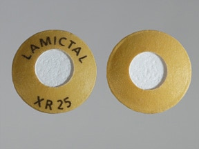 Lamictal XR 25 mg tablet,extended release