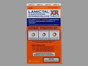 Lamictal XR Starter (Orange) 25 mg(14)-50 mg(14)-100 mg(7) tab,ext.rel