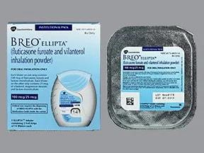 Breo Ellipta 100 mcg-25 mcg/dose powder for inhalation