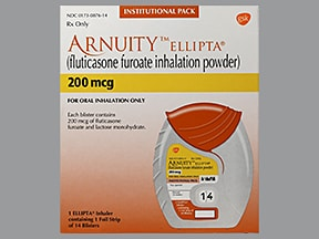 Arnuity Ellipta Inhalation Uses Side Effects