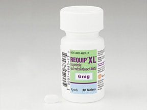 Requip XL 6 mg tablet,extended release