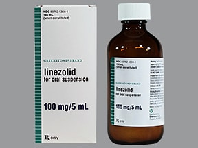 linezolid 100 mg/5 mL oral suspension