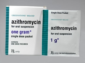 azithromycin 1 gram oral packet