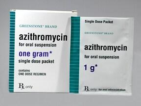 Azithromycin single dose for chlamydia