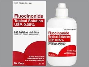 fluocinonide 0.05 % topical solution