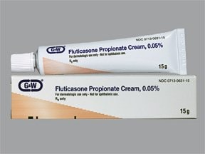 fluticasone propionate 0.05 % topical cream