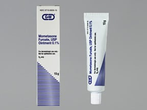 mometasone 0.1 % topical ointment