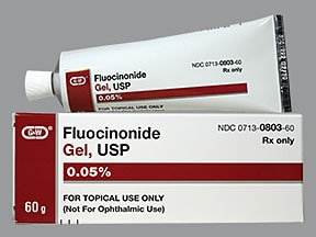 fluocinonide 0.05 % topical gel