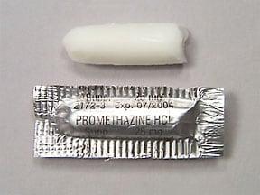 Promethegan 25 mg rectal suppository