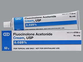 fluocinolone 0.025 % topical cream