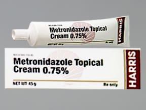 metronidazole 0.75 % topical cream