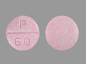 propranolol 60 mg tablet