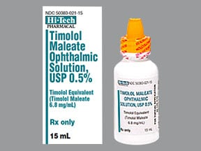 timolol maleate 0 5 eye drop preparation Timoptic 025% and 05% (timolol maleate ophthalmic solution) in ocudose if your eyes are sensitive to the preservative benzalkonium chloride, timoptic in ocudose , a preservative-free eye drop for lowering high eye pressure, is available.