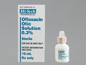 Ofloxacin Otic (Ear) : Uses, Side Effects, Interactions